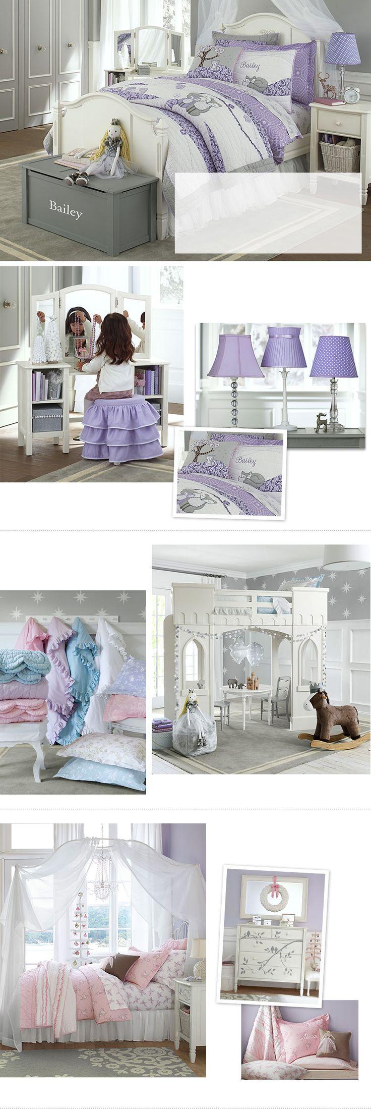 Girls Bedroom Ideas & Girls Room Ideas | Pottery Barn Kids