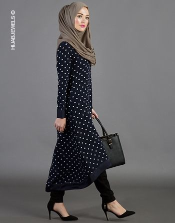 Maleha Polka Work Dress