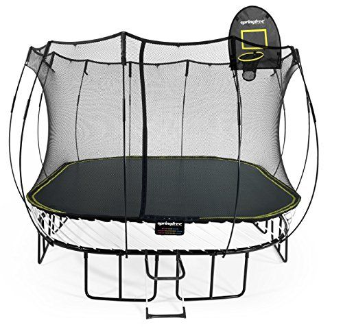11 Best Trampoline With Basketball Hoop Images On