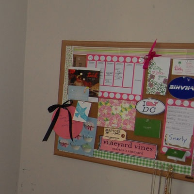 College Prepsters Bulletin Board Get Preppy College Dorm Room