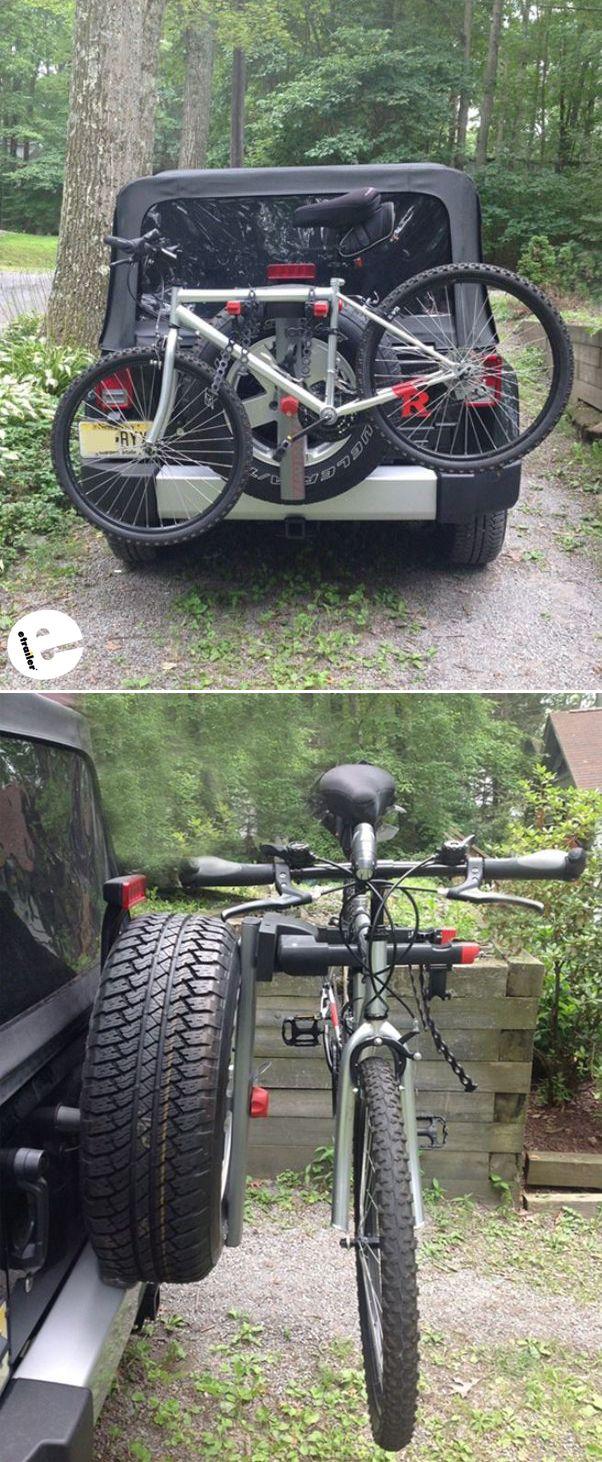 Jeep Wrangler Unlimited Yakima Spareride 2 Bike Rack Spare Tire