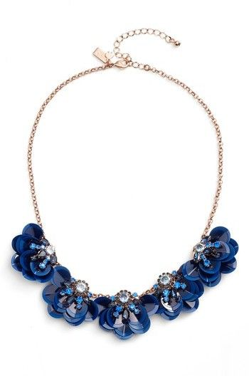 Kate Spade Women's Snowy Nights Sequin Necklace