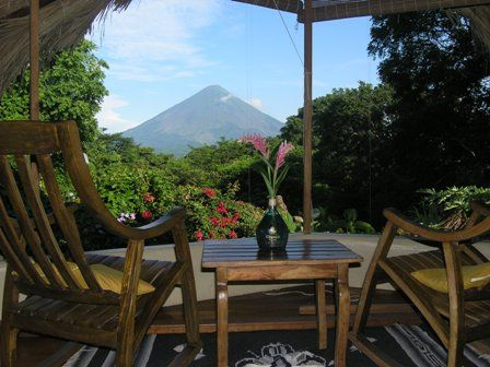 An Eco-Friendly Lodge with its own Organic Farm, in the middle of an island and right next to a volcano. Doesn't get much better than that! http://travelexperta.com/2012/01/eco-friendly-lodge-organic-farm-ometepe-island-nicaragua.html #Nicaragua #Ometepe #Hotel