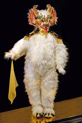 Ours de la Diablada (Musée du Quai Branly)