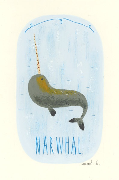 Narwhal narwhal  Swimming in the ocean Making a commotion  'Cause they are so awesome