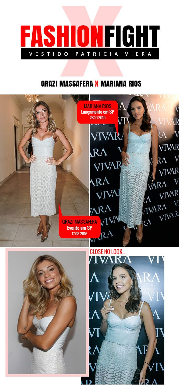 Fashion Fight: Mariana Rios x Grazi Massafera x Ivete Sangalo