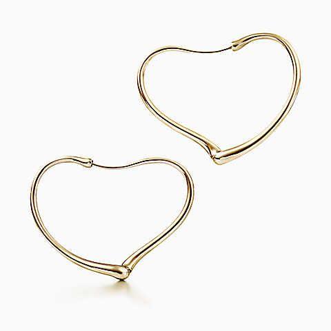 Gold Tiffany earrings
