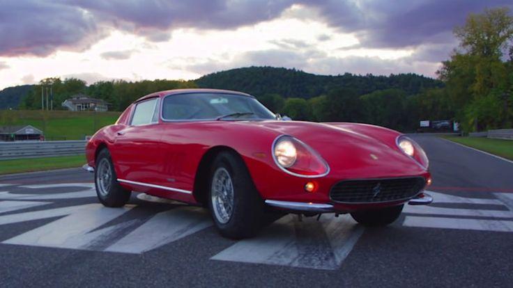 Skip Barber's favorite car is a Ferrari 275 GTB