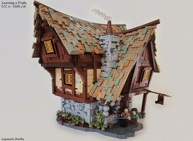 Find this Pin and more on LEGO! medieval house