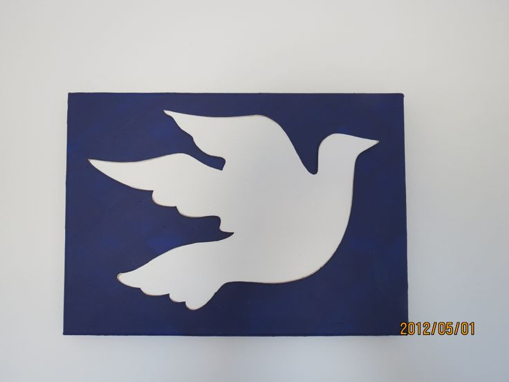 """found peace"" bird - for sale"