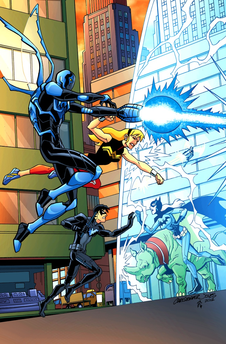 Cover art from Young Justice #22 #YoungJustice