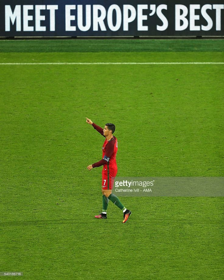 Cristiano Ronaldo of Portugal-reacts-during-the-uefa-euro-2016-group f picture