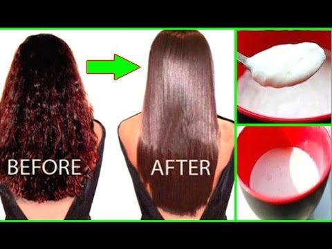 (8) Permanent Hair Straightening at Home in 30 Minutes with all Natural Ingredients | 100% Work | NAHR - YouTube