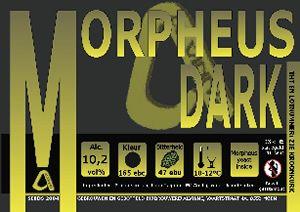 Morpheus Dark / 10,2 alc vol % Kleur: donker (165 EBC) Bitterheid: 47 EBU Hop: Magnum, EK Goldings  Morpheus dark is een zwaar Belgisch donker bier, een complexe, stille genieter. Gebrouwen met 7 moutsoorten.