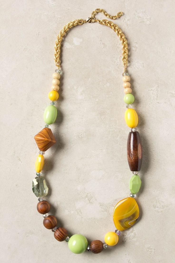Pieced Prism Necklace - Anthropologie.com