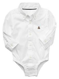 White Collar Button Down Shirt: Baby Boy Clothing: New ...