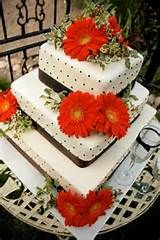 Pinky Promise Cakes: orange and brown wedding cake LOVE THIS CAKE SO ...