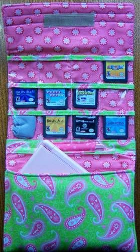 Nintendo DS Carrier -  I need to adapt this for my kids 3DS. I know I would love not finding their games all over the house anymore.