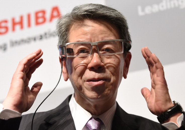 Toshiba CEO quits after company lied about $1.2 billion profits. #technews #toshiba