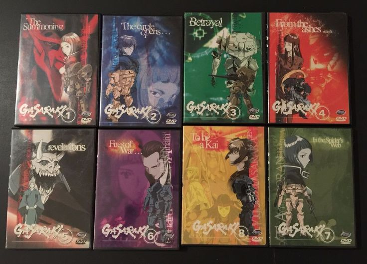 Gasaraki - Vol 1,2,3,4,5,6,7,8 -  Collection - Anime DVD #306 - Excellent | DVDs & Movies, DVDs & Blu-ray Discs | eBay!
