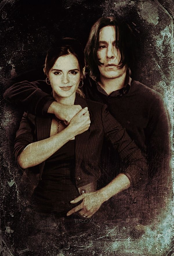 #severus snape #snager #Hermione