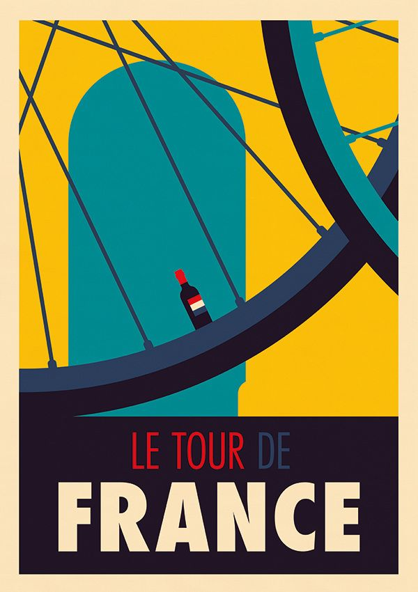 Le Tour de France by Spencer Wilson; très drôle.