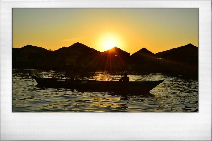 Sunrise at Barito's River. #Banjarmasin #SouthBorneo #Indonesia