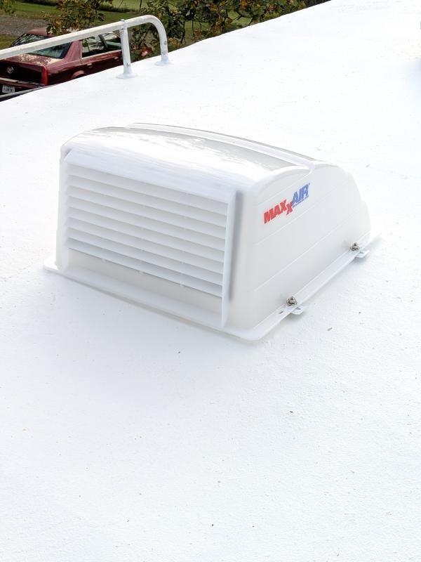 Maxxair I Original Roof Vent Cover Translucent White In 2020 Roof Vent Covers Roof Vents Vent Covers