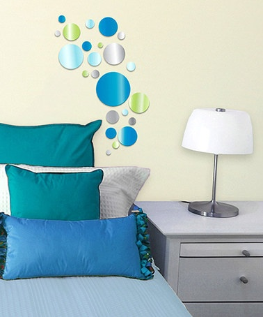 Take a look at this Blue Dot Acrylic Wall Decoration Set by Lot 26 Studio on @zulily today!