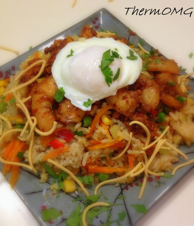 Very special fried rice in thermomix