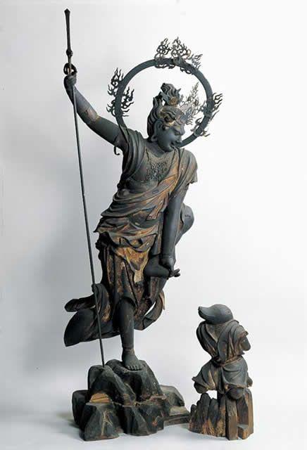 高岡・瑞龍寺 木造烏蒭沙魔明王立像(トイレの神様)