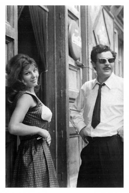 """From the movie """"Divorzio all'italiana"""" - Marcello Mastroianni e Stefania Sandrelli"""