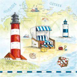 Serwetka papierowa - Shore - 00417