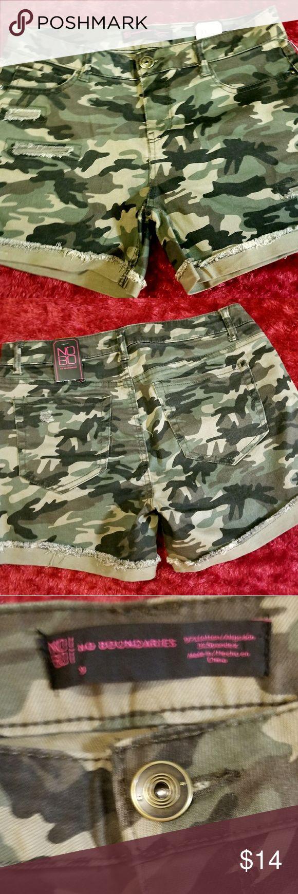 Army shorts . No Boundaries Shorts Jean Shorts