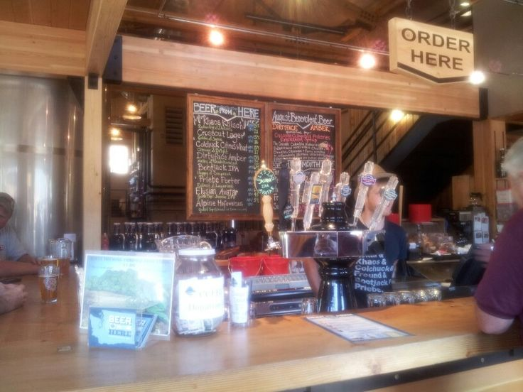 Icicle Brewery,  Leavenworth,  Washington.