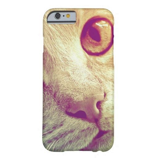 Love and Devotion. A beautiful close-up cat portrait, especially for cat lovers! / Barely There iPhone 6 Case #fomadesign