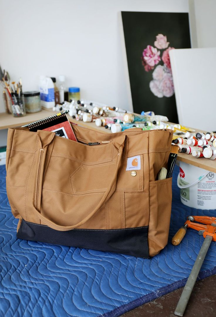 CARHARTT Legacy Women's East West Tote • Love this bag!! Practical & pretty cute <3