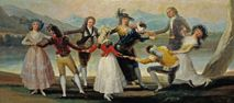 La gallina ciega (1788) Goya.