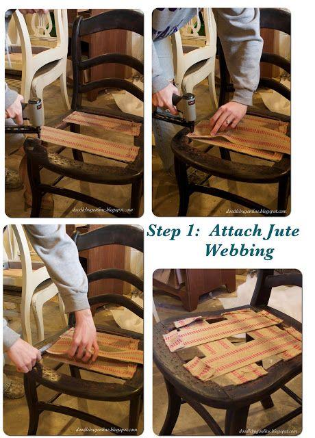 Chic On A Shoestring Decorating: How To Reupholster A Chair, Guest Post By  The