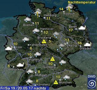 Wettervorhersage Deutschland - Wetterdienst.de