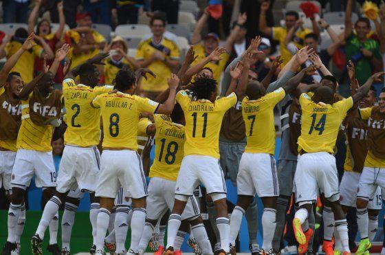 Colombia ganó, goleó y gustó en su debut en Brasil