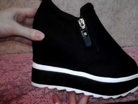 Женские туфли на платформе с AliExpress