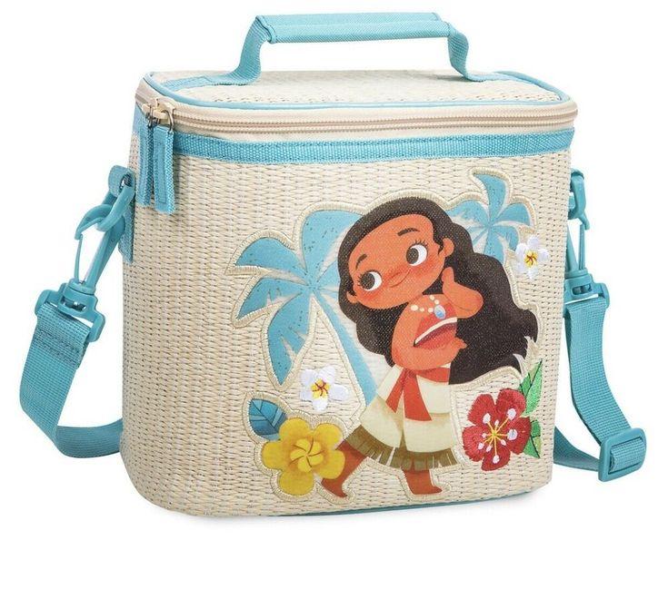 Disney Store Princess Moana Swim Backpack Bag Tote for Girls NWT