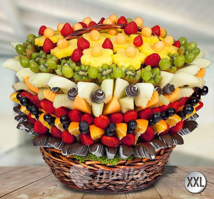 Ovocné kytice Frutiko blog: Ovocný koš
