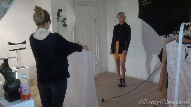 Rosa*Bryndis SS13 Fashion shoot. Makeup and styling by Makeup Artist Helena Bruun