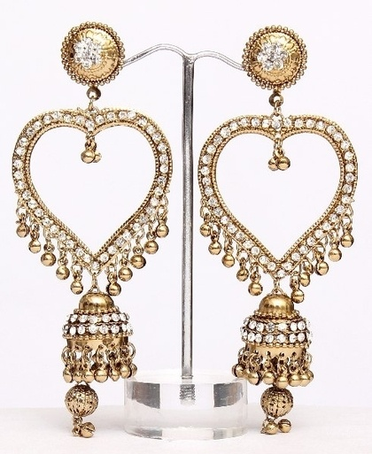 Indian Earrings : Indian Bangles, - Buy Indian Jewellery, Indian Bangles, Bracelets, Indian Earrings, rings Online Shop India - StyleSays