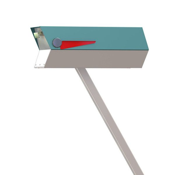 Now you can have a mailbox that looks great with your mid-century, modern, and/or contemporary home.