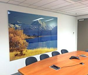 Acrylic Panel - NZ CONSULATE Vic