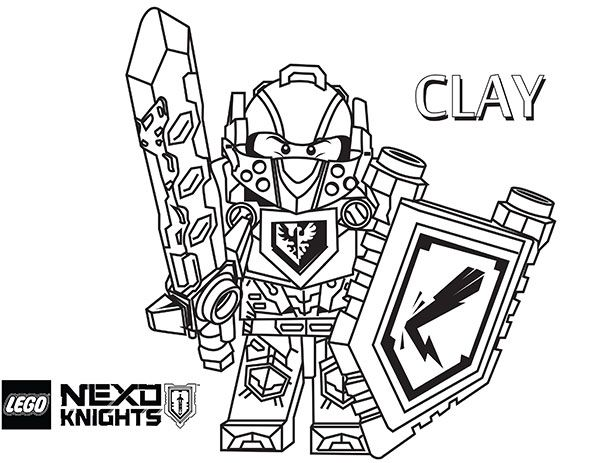 lego nexo knights coloring pages to print - 38 best kids lego nexo knights images on pinterest