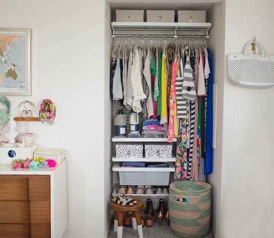 Joyu0027s Alcove Closet Makeover!